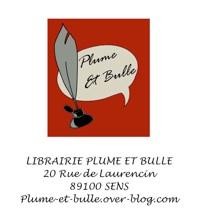 Logo de la librairie Plume et Bulles