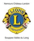 Blason du Lions Club Nemours Chateau Landon
