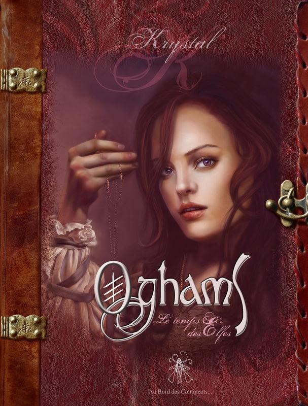Oghams le temps des elfes ( tome 1)/ Les portes d'or (tome 2) Krystal Camprubi  Oghams-krystal-camprubi