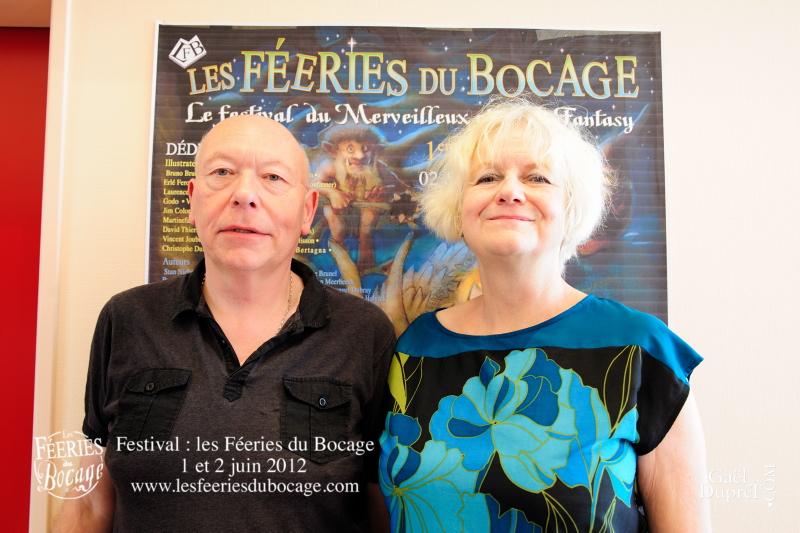 Stan Nicholls et sa femme Anne Nicholls