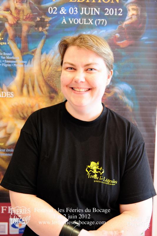 Valérie Frances, organisatrice de Troll et Légendes