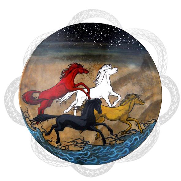 LA NUIT DES TEMPS - chevaux