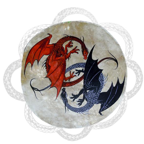 LA NUIT DES TEMPS - deux dragons